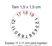 Etiqueta casca de ovo redonda 1 x 1 cm mod.02
