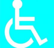Adesivo cadeirante. Tam.10 x 10 cm