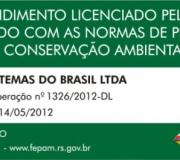 Placa de licenciamento ambiental