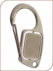chaveiro mosquetão personalizado